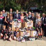 Shrewsbury House Pupils Welcome Laotian Ambassador to Celebrate Shoe Campaign Success