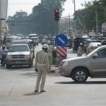 Traffic Police Out in Force Ahead of Asean Summits