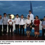 Twelve Students From Laos Head to European Universities