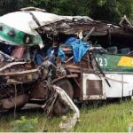 One Dead, 23 Injured In Pakxan Accident
