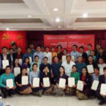 Lao Media Personnel Complete Writing Course in Vietnam