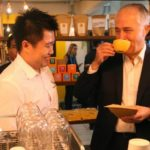 Turnbull Meets With Baristas and Students At Naked Espresso in Laos
