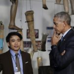The Latest: Obama Touring Buddhist Temple In Luang Prabang