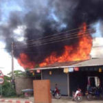 Two Houses Burn Down in Donpamai Village