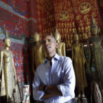 Aiming for closer ties to Laos, Obama honors its culture