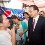 Premier Li Keqiang Visits Local Store In Laos