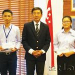 Singapore Awards ASEAN Scholarships to Two Lao Students