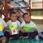 Oudomxay Schoolchildren Get Refurbished Library after Floods