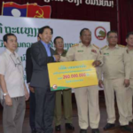Vientiane Authorities Promote Road Safety