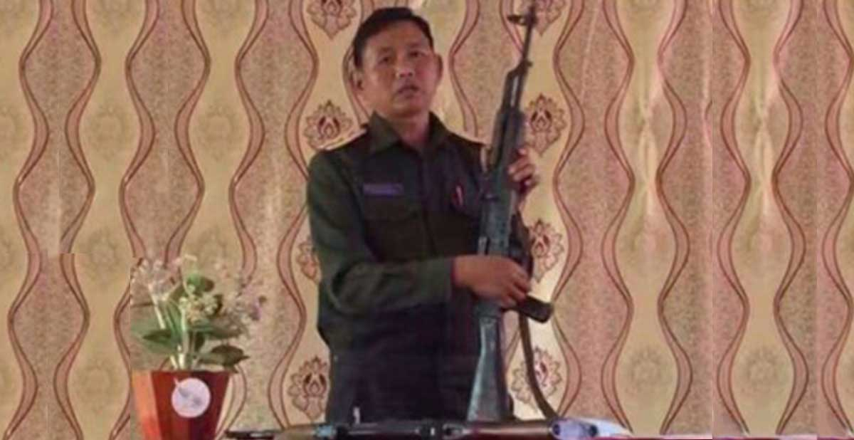 Lao Military Instructor