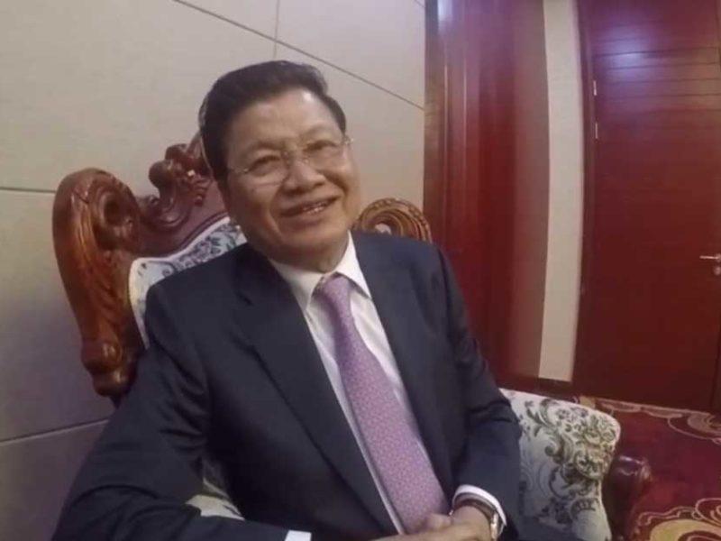 Prime Minister of Laos Thongloun Sisoulith
