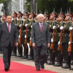 Singapore President Tony Tan Makes Official Visit to Laos