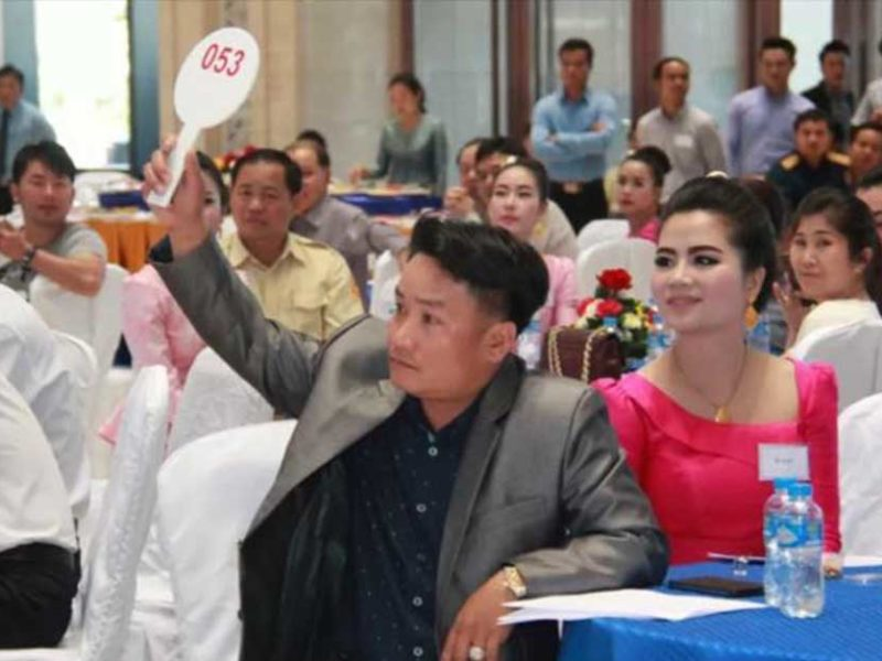 Auction of Lao Leaders Cars