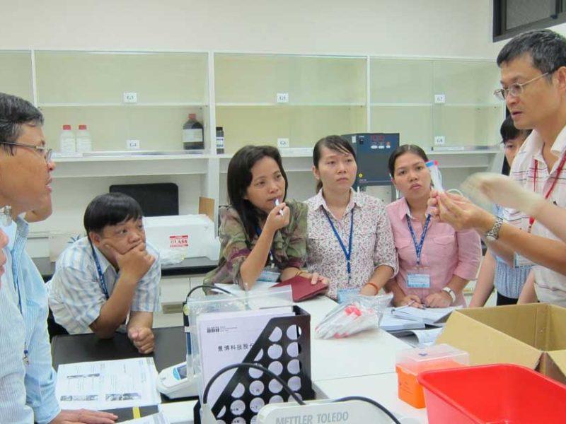 Laos Food Safety Lab