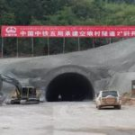 Tunnel Boring for Laos-China Railway 68 Percent Completed