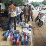 Police Regulate Unauthorized Street Traders