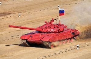 A T-72B Russian Tank