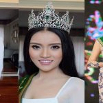 Miss Grand Laos Showcases That Luang as National Costume