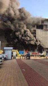 Fire at World Trade Center