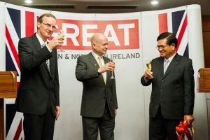 UK Embassy Opens in Vientiane