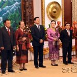 Diplomatic Corps Wish Laos a Happy 42nd Birthday
