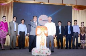 Unitel launches 4G in four cities and provinces in Laos. Photo credit: VNA/VNS Pham Kien