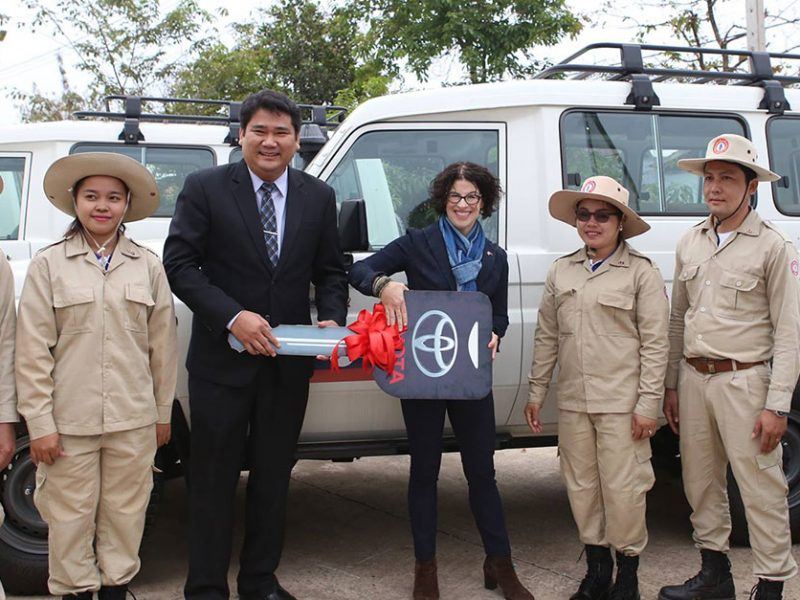 United States Contributes to UXO Clearance