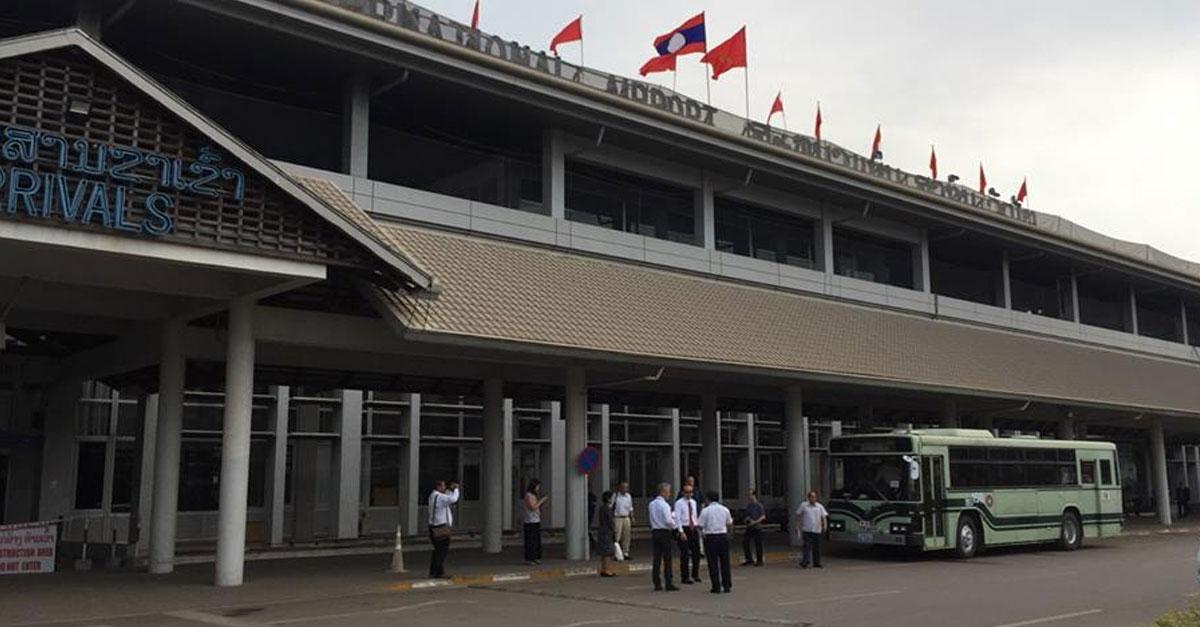 Vientiane Wattay Airport Shuttle Bus