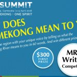 MRC Launches Writing Competition for Mekong Citizens ahead of Summit