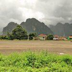 Former Vang Vieng Airport