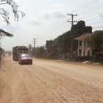 Embankment is New Southern Route for Vientiane