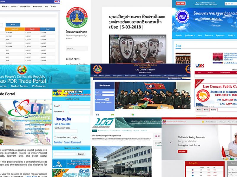 Top Lao Government Websites You Didn't Know About