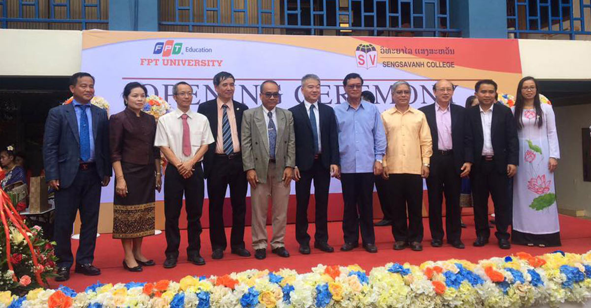 FPT University and Sengsavanh Group to Offer First International Tertiary Education in Laos