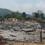 Village Devastated by Fire in Xieng Khouang Province