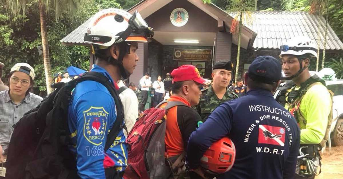 Vientiane Rescue Cave Efforts