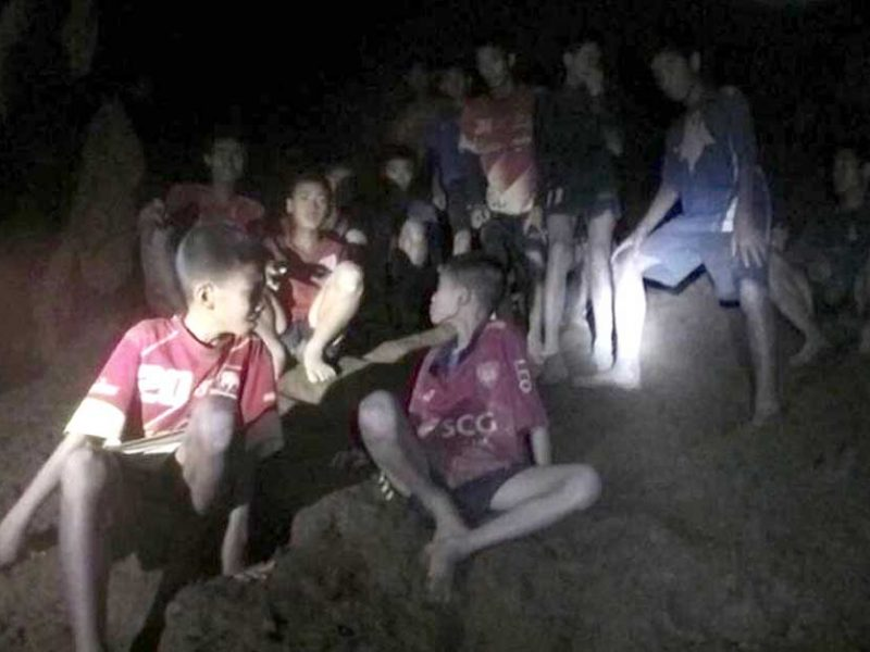 Thai Soccer Team Found in Cave