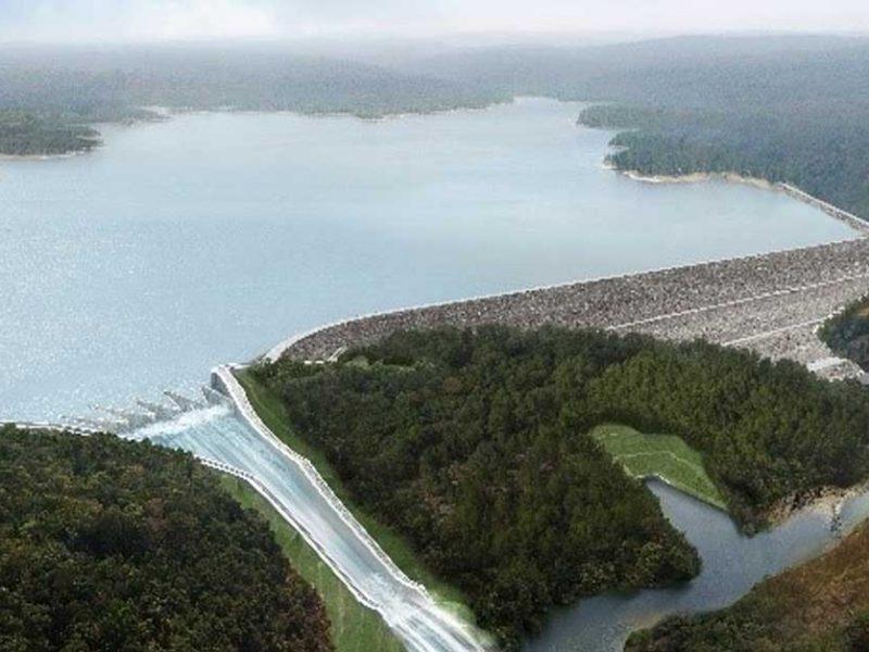 xe namnoy dam ບurst its banks