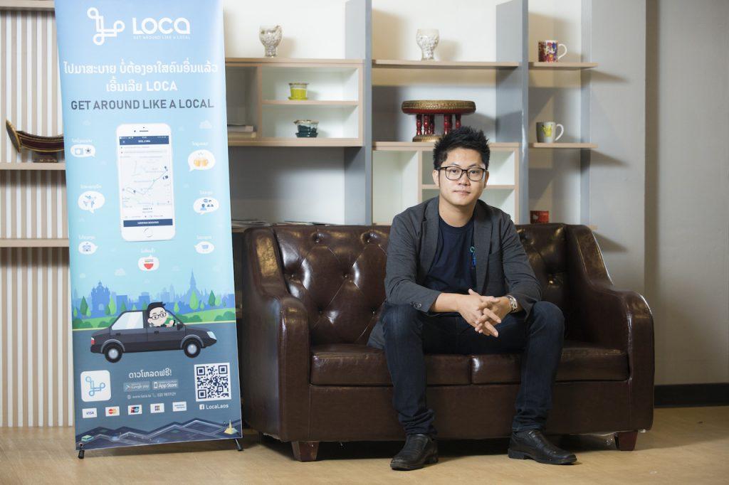 Souliyo Vongdla, CTO of Bizgital, owner of LOCA ridesharing app