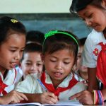 Students in Laos