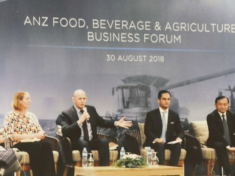 ANZ Holds Food, Beverage and Agriculture Forum