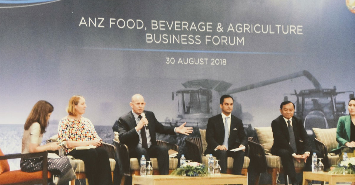 ANZ Food Beverage Agriculture Forum