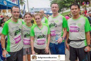 UK's Princess Beatrice Runs the Luang Prabang Half Marathon