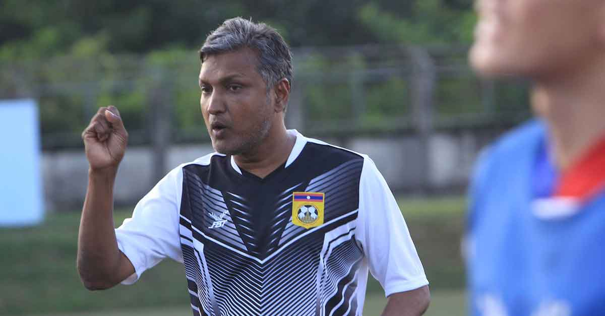 Laos Football Coach Sundramoorthy