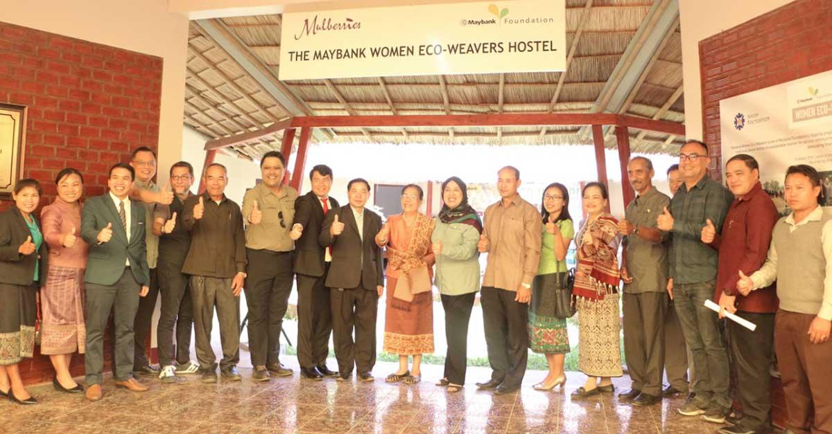 Maybank Women Weavers Laos