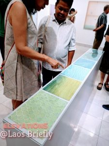 Depths, an exhibition by Elevations at I:Cat Gallery Simeuang Village in Vientiane, Laos. (Laos Briefly)