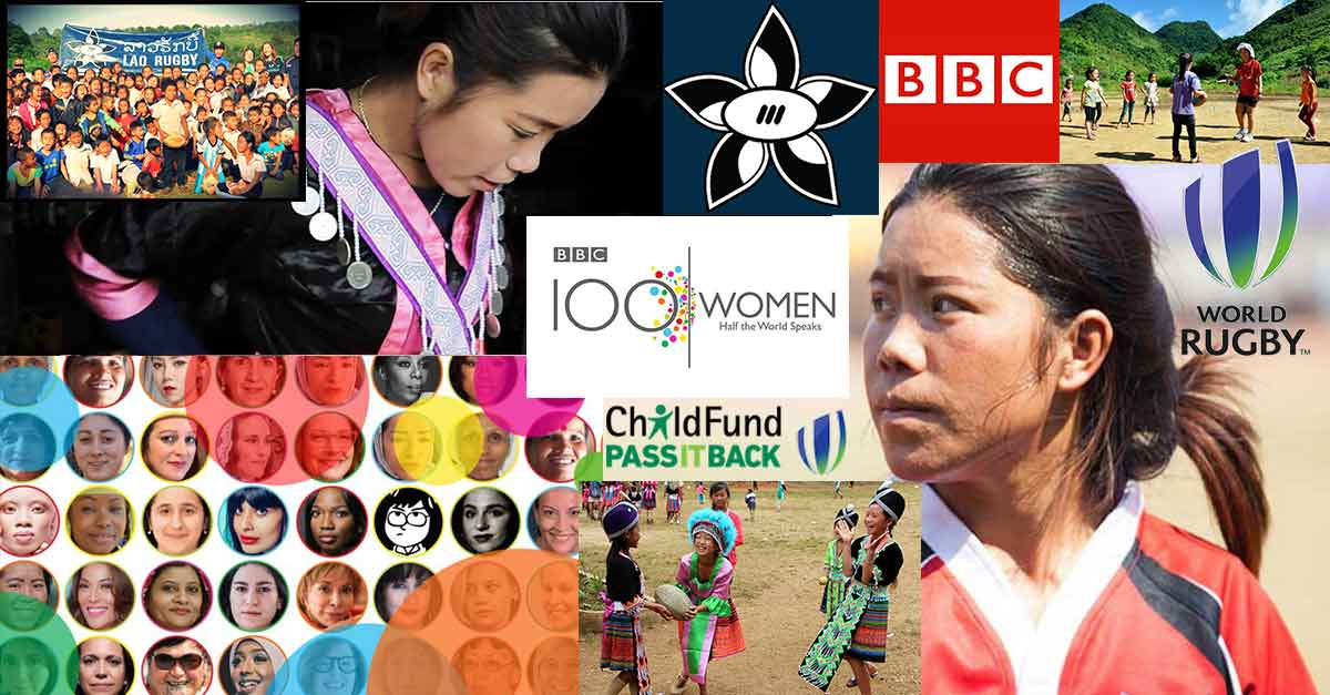 Laos' national women's rugby captain, star player turned development officer Lao Khang hails from the country's rural province of Xieng Khouang, home to a multiethnic population including her Hmong community.