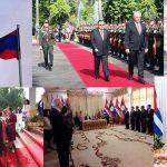 Cuba's president Diaz-Carnel in Laos