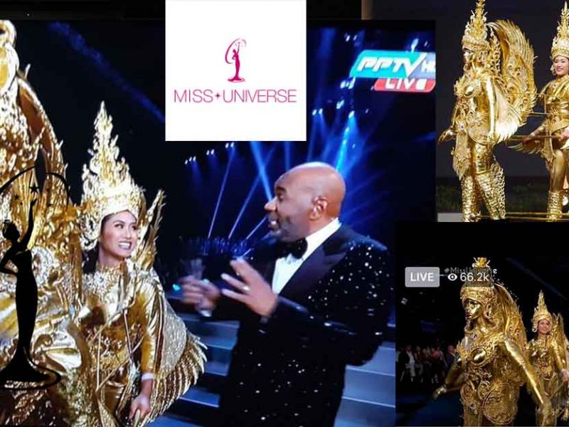 Miss Universe Laos National Costume