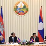 Border Discussion as Cambodia PM Hun Sen Visits Laos