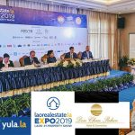 via laorealestate.la yula.la & LNCCI. Laotian Times, Lao Post, Champa Meuang Lao among the media partners.